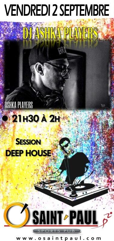 DJ ASHKA 2 SEPTEMBRE